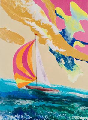 Acryl, 70 x 100 cm, 2021