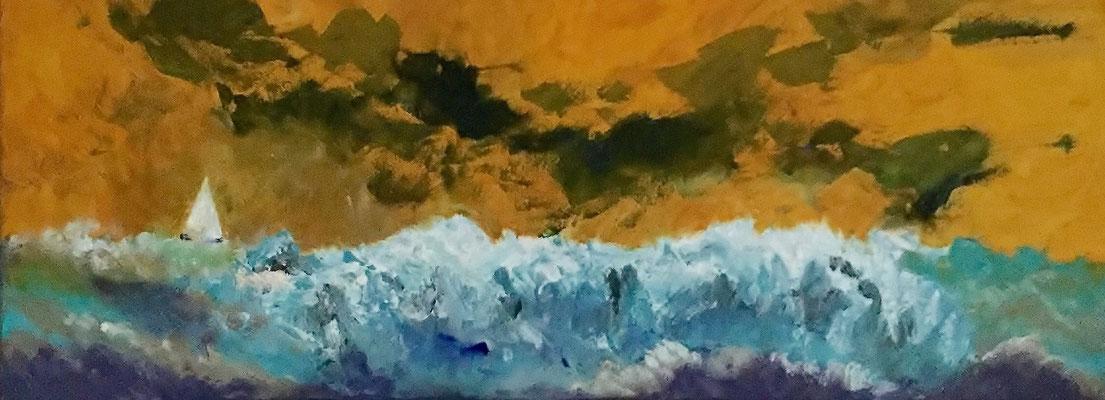 Acryl, 80 x 30 cm, 2016, not available