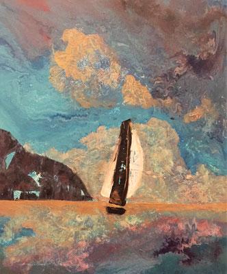 Acryl, 50 x 60 cm, 2018, not available