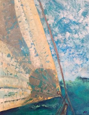 Acryl, 80 x 100 cm, 2017