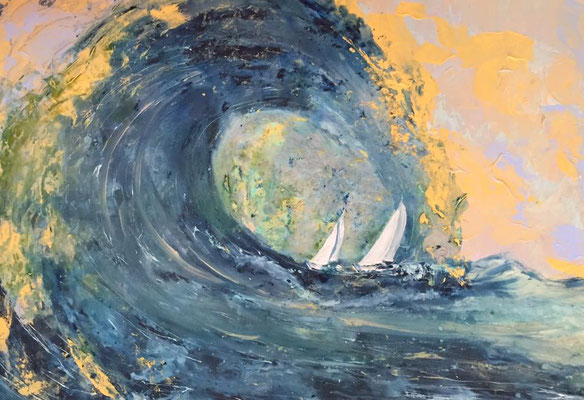 Acryl, 100 x 70 cm, 2017