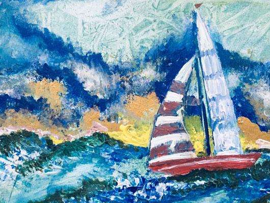 Acryl, 24 x 30 cm, 2019