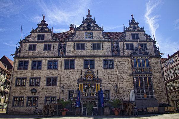 Das Rathaus - Hann. Münden