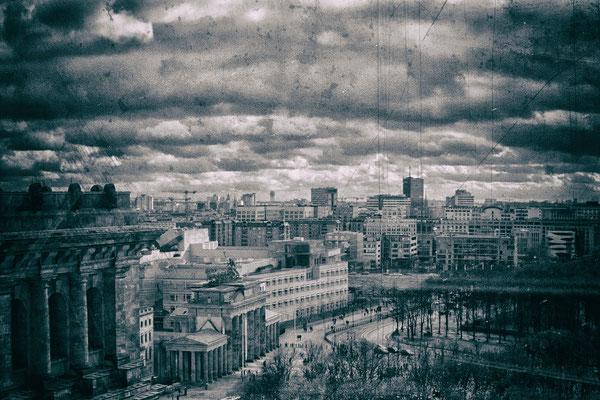 21.02.2017 - Blick auf das Brandenburger Tor