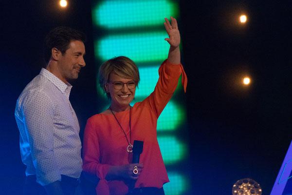 Andrea Ballschuh und Marco Schreyl