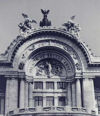 Palacio de bellas Artes - México City