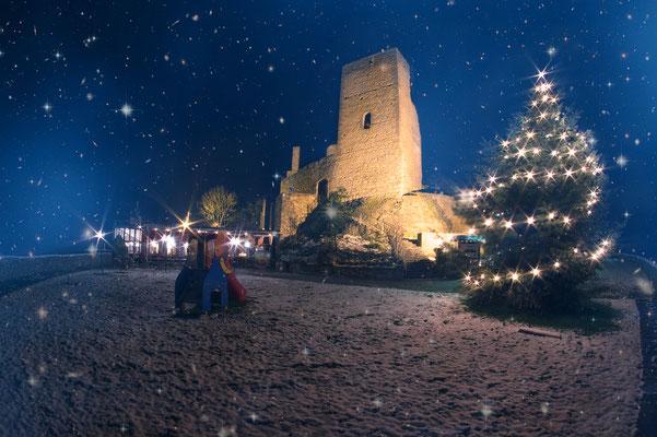 Kugelsburg Volkmarsen Weihnachtszeit 2017
