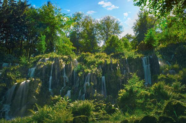 Steinhöfer Wasserfall im Bergpark Wilhelmshöhe - Kassel