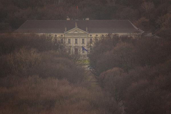 21.02.2017 - Blick auf Schloss Bellevue