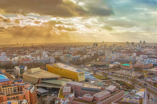 21.02.2017 - Blick auf Berlin vom Kollhoff Tower aus