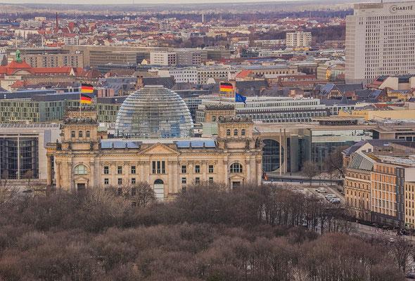 21.02.2017 - Blick auf das Regierungsgebäude