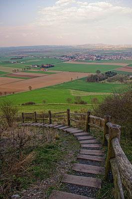 Der Desenberg bei Daseburg (Stadtteil Warburg)
