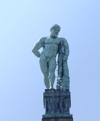 Der Herkules im  Bergpark Wilhelmshöhe - Kassel