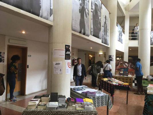 開催会場の様子(アフリカ関係の会議が開催されていた)