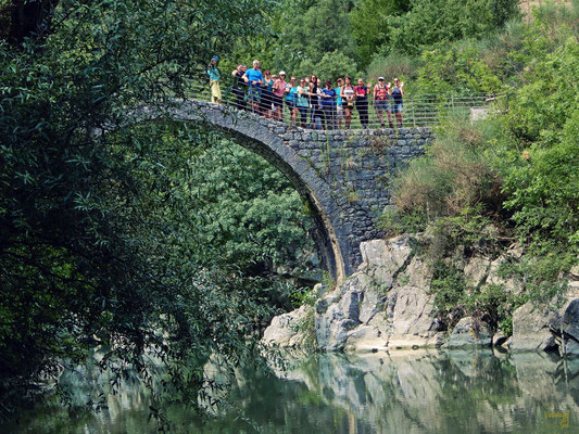 Sul Ponte di Annibale