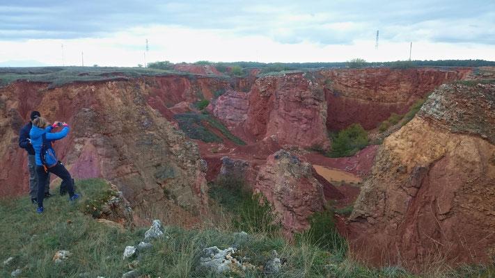 Un tempo utilizzate per l'estrazione dell'alluminio ed ora considerate luogo raro del Parco Nazionale dell'Alta Murgia