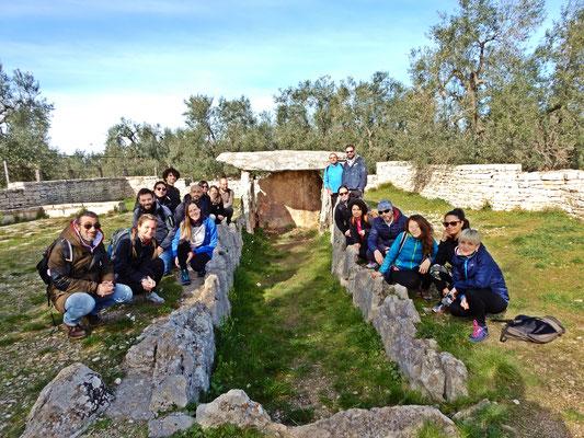 Il Dolmen della Chianca è un imponente monumento funerario megalitico preistorico, risalente all'Età del bronzo. La costruzione fu scoperta dagli archeologi Francesco Samarelli e Angelo Mosso il 6 agosto del 1909.