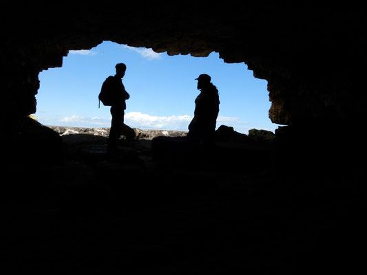 Le Grotte di Ripalta si affacciano sul mare