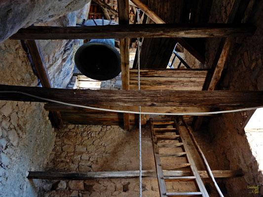 All'interno del campanile
