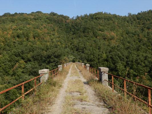 Il gigante ponte dell'acquedotto sul torrente Bradano