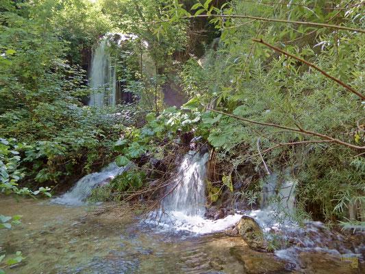 L'altra Cascata del Volturno, qui affluisce il Rio Colle Alto