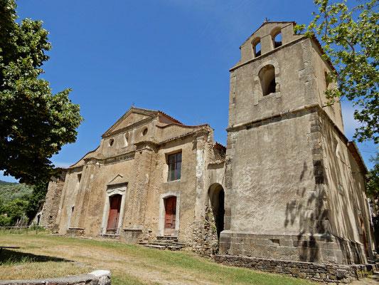 Roscigno Vecchia e la chiesa di San Nicola di Bari