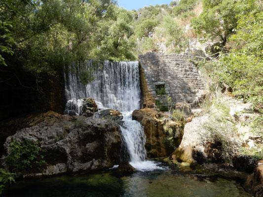 La prima cascate dell'#Auso