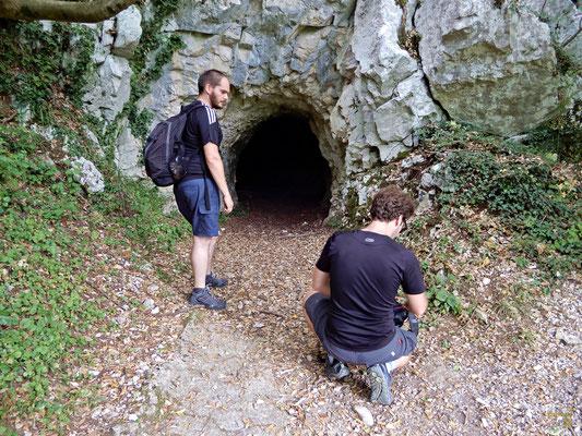 L'ingresso alla Grotta delle Fate