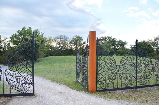 Eintrittstor zum Park