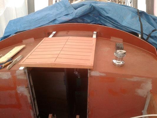 Im Boot auf Schienen läuft wie von selbst