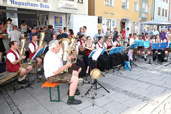 Bürgerfest 2017 Stand der Almschänke 08.07.2017