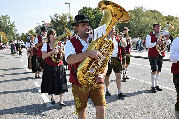 Volksfesteinzug Ingolstadt 2017
