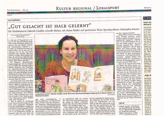 Die Rheinpfalz, 05.02.2004, Artikel von Birgit Karg