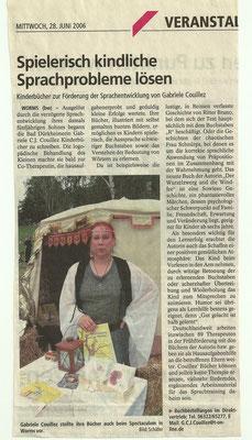 Wormser Wochenblatt vom 28.06.2006