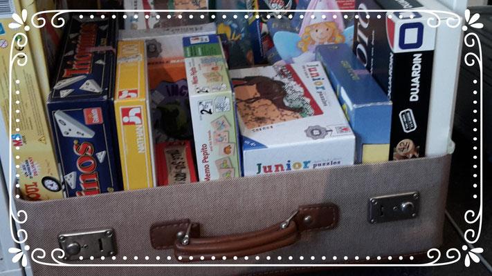 viele Spielzeuge