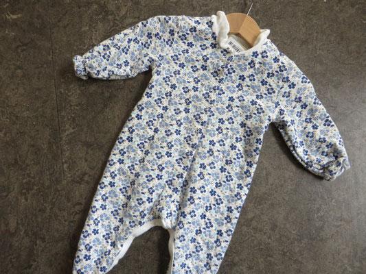 Petit Bateau Liberty Pyjama - 6Mo. - 19,-