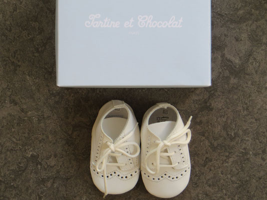 Tartine et Chocolat Booties  - NEW with box!- 0-6 Mo. - 19.50 Chf - Kinder Second Hand Zürich