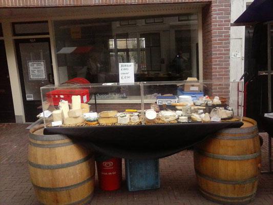 Käsetheke in Schiedam (NL)