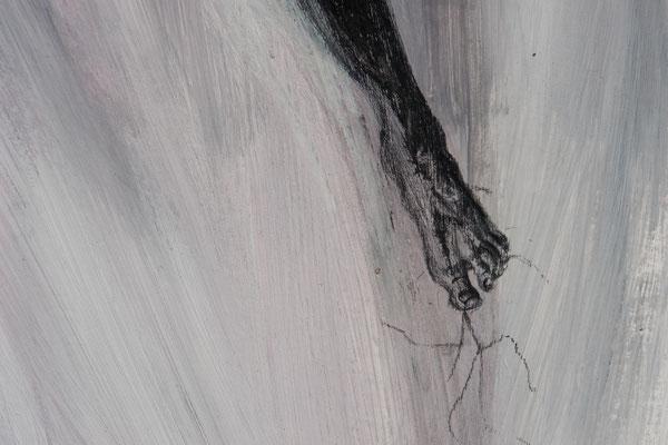 Graphit u. Acryl. 2009 (Bildausschnitt) (copyright: oya-kunst, Nadide Ruthammer)