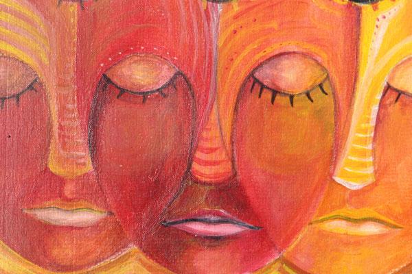 Serie: bewusst und unbewusst, Acryl. 2011 (copyright: oya-kunst, Nadide Ruthammer)
