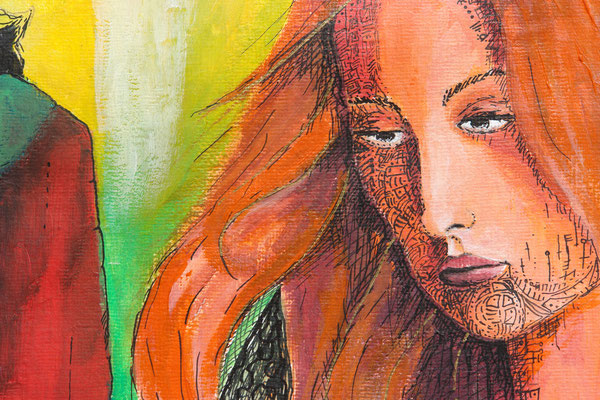 Serie: Die Rache der Amazonen. 2010  (copyright: oya-kunst, Nadide Ruthammer)