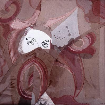 Oya, Stoff u. Garn, 50x50. 2011, (copyright: oya-kunst, Nadide Ruthammer)