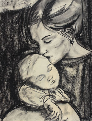 Mutter, Kohle. 2010 (copyright: oya-kunst, Nadide Ruthammer)