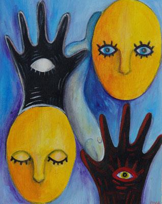 Serie: bewusst und unbewusst, Acryl. 2011