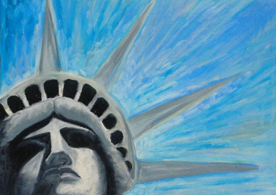 America, Neo-Pastel. 2010 (copyright: oya-kunst, Nadide Ruthammer)