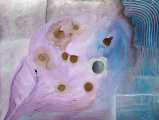 Serie: 2 Stundenbilder, Acryl. 2011