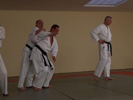 Training im Ronin Dojo