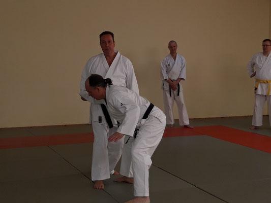 Training im Ronin Dojo mit Gerd Wegner