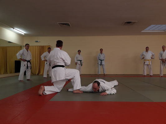 Training im Ronin Dojo mit Stefan Boesel