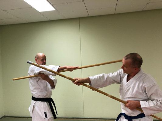 Bo Training René Roese und Thomas Swaar